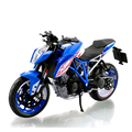 KTM DUKE 1290 Blue motorcycle model 1:12 scale models Metal Diecast Models Motor Bike Miniature Race Toy For Gift Collection
