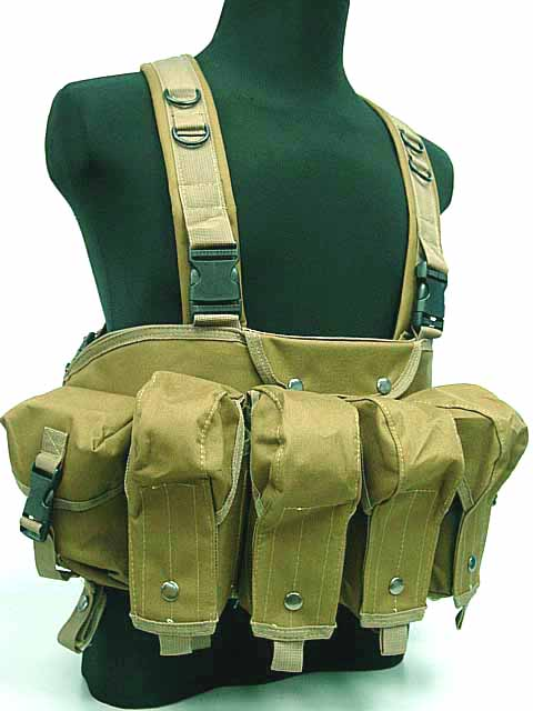 AK Magazine Chest Rig Trage Weste Camo Woodland CB Digital ACU Camo MC OD bk