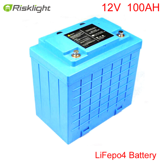 12 V batería de iones de litio de 100Ah para energía Solar