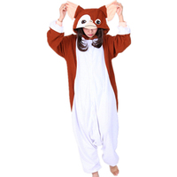 New Brown Gremlins Gizmo Onesies Pyjamas Adult Pyjamas Pajamas Halloween Carnival Party Christmas Cosplay Costume