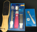 Professional Pedicure set , Pedicure blades sets , Wood foot file kit , pedicure tools set ,Manicure & Pedicure set