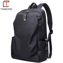 Tangcool Men Fashion Backpack 15 inch Laptop Backpack Men Waterproof Travel Outdoor Backpack School Teenage backpack Mochila(China)