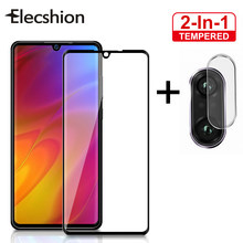 2 in 1 Camera Len Film Protective Screen For XiaoMi Redmi Note 7 Pro 5 For XiaoMi Mi 8 9 Tempered Glass Screen Phone Protector(China)