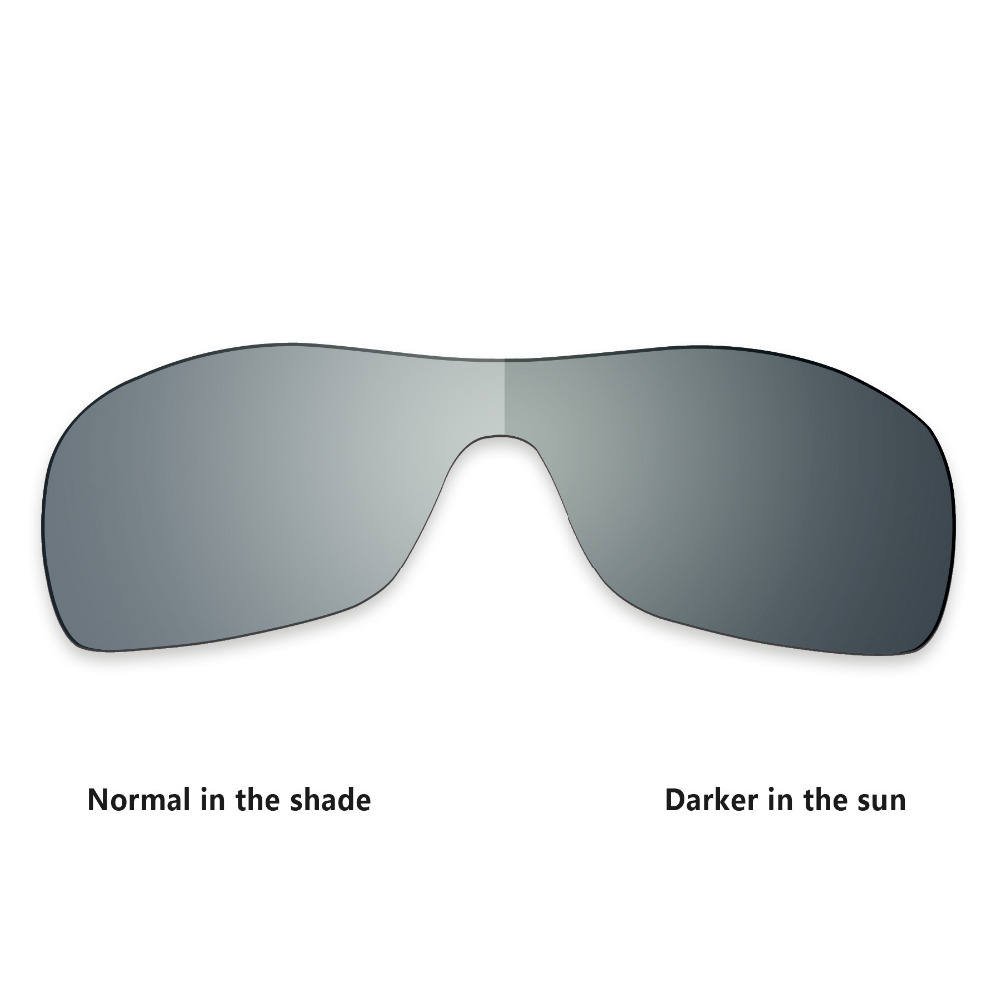 439fd236d5b ToughAsNails Polarized Replacement Lenses for Oakley Antix Sunglasses  Photochromic Grey (Lens Only)-in Accessories from Apparel Accessories on ...