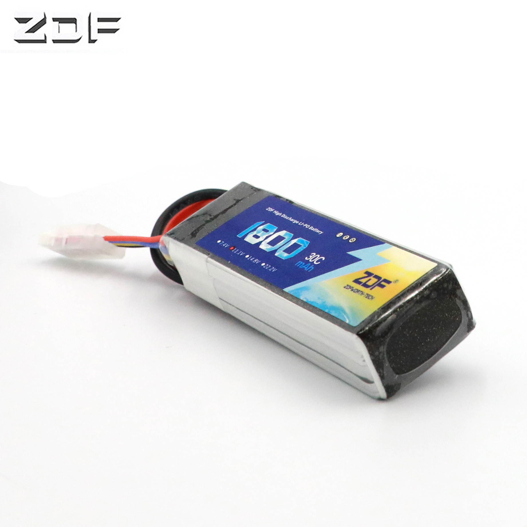 ZDF <font><b>Lipo</b></font> <font><b>3S</b></font> 11.1V <font><b>1800mAh</b></font> 30C For RC Quadcopter Helicopter Car Drone Airplane Boat Truck Remote Control Toys <font><b>Lipo</b></font> Battery image