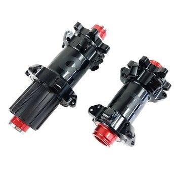 MTB XC прямые тяговые концентраторы 142x12мм 100x15 мм 6 кассета корпус 10s 11s черный DH825 24H втулки горного велосипеда