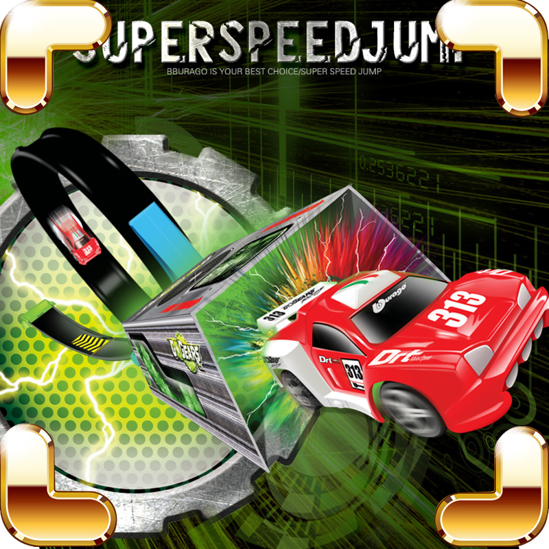 ФОТО Christmas Gift Racing Pull Back Model Car DIY Slot Vehicle Speed Tracing Toy Rotate Run Stunt Show Kids Boys Favour Game Present
