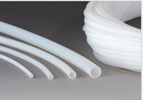 9x11 Teflon Tubi tubo ID 9mm OD 11mm Brand New Wire Protezione PTFE F46 Bianco Trasparente9x11 Teflon Tubi tubo ID 9mm OD 11mm Brand New Wire Protezione PTFE F46 Bianco Trasparente