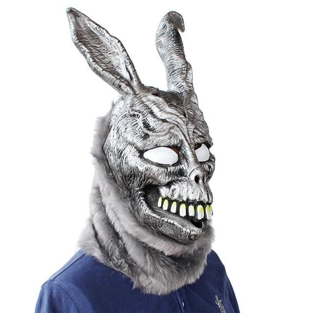 Donnie Darko FRANK Rabbit Mask Halloween the Bunny Latex Hood with Fur Mask Funny Gift Z0301Novelty & Gag Toys
