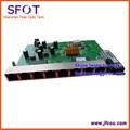 Placa PCB, PD con 8 puertos ethernet, revertir POE EPON onu red óptica, 8 puertos placa PCB