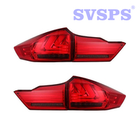 High Quality Car Styling Left Right Rear Bumper Lamp Brake Light For HONDA City 2015 2017 year