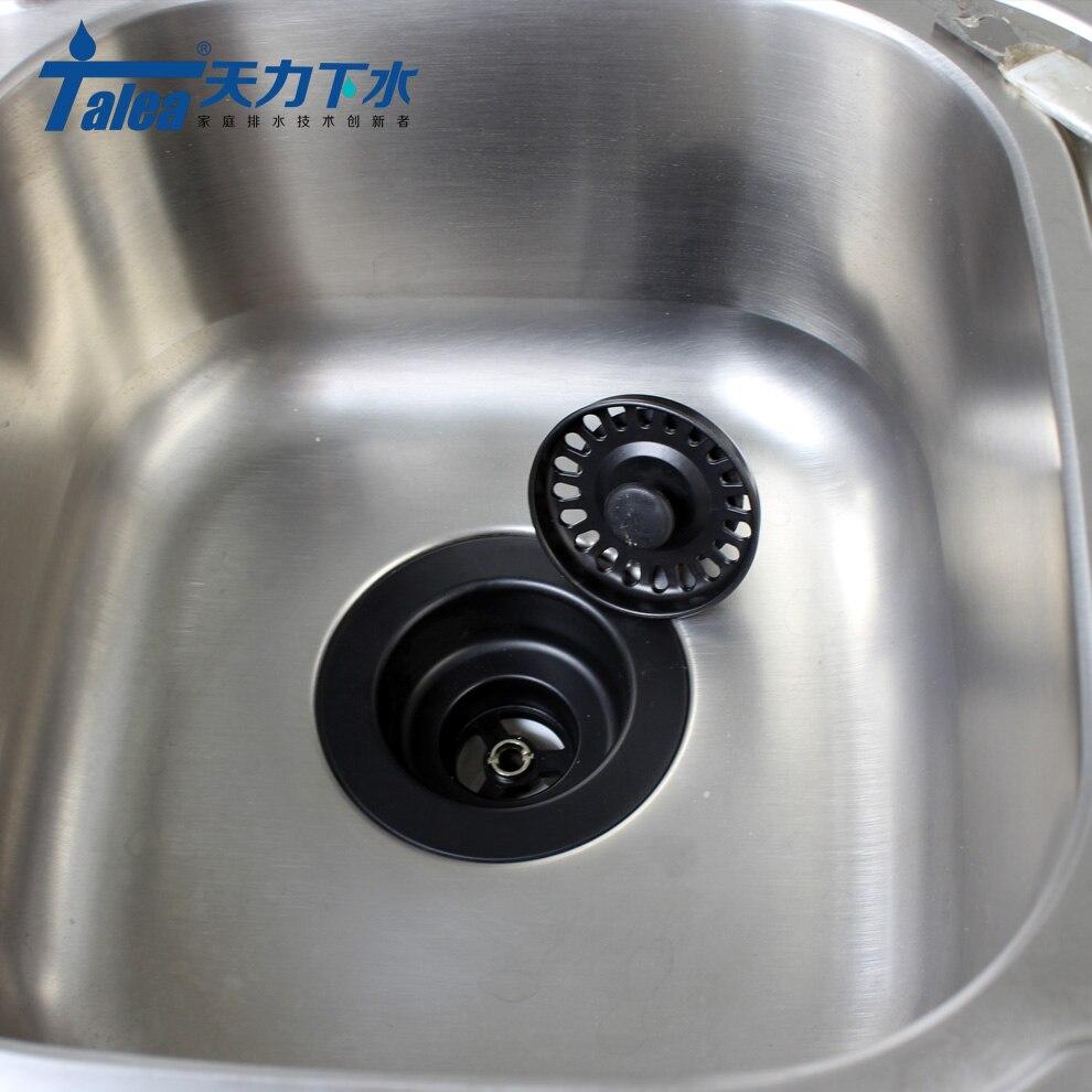 Talea Sink Waste Kit Bathroom Plug Trap Water Drain Filter Kitchen ...