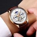 LIGE  роскошные Брендовые мужские часы  автоматические механические часы  турбийон  спортивные часы  автоматические часы с датой  водонепрони...