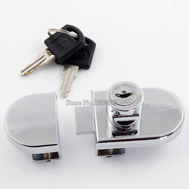 5set Doublesingle Glass Cabinet Lock Shopping Malls Display Mobile
