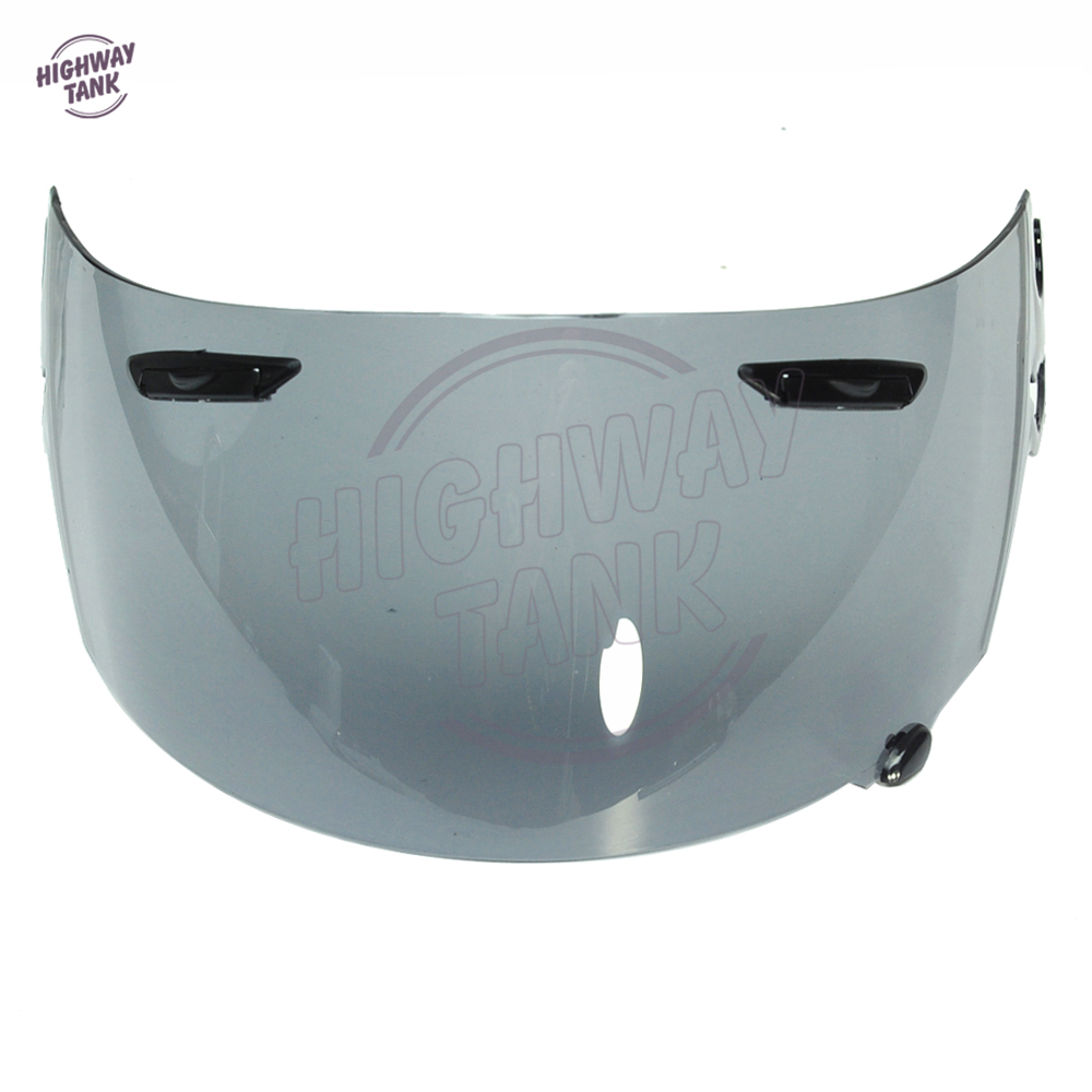 1 PCS Light Smoke Motorcycle Full Face Helmet Visor Lens Case for ARAI RR4 Visor Mask