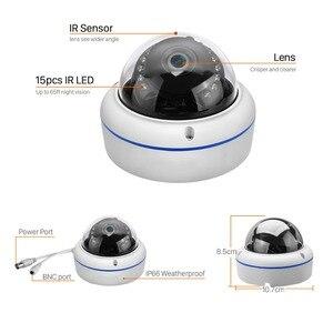 Image 2 - Wandaloodporna kamera AHD 1MP 1.3MP 2MP wysokiej rozdzielczości 15 sztuk IR LED Nightvision kamera AHD analogowa wysoka rozdzielczość wewnątrz/na zewnątrz