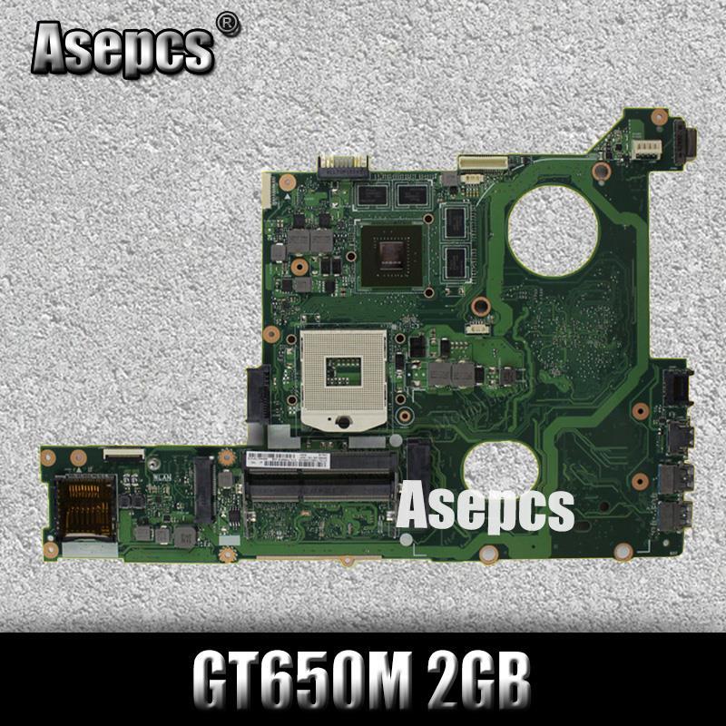 Akemy N46VZ GT650M 2GB mainboard REV2.1 For ASUS N46V N46VM N46VZ N46VJ N46VB laptop motherboard 60-N8IMB1400 100%TestedAkemy N46VZ GT650M 2GB mainboard REV2.1 For ASUS N46V N46VM N46VZ N46VJ N46VB laptop motherboard 60-N8IMB1400 100%Tested