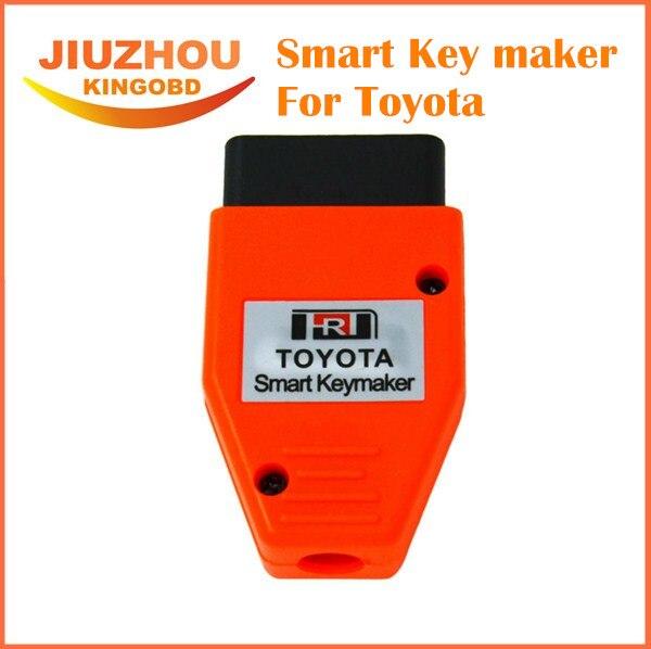 Prix pour Pour Toyota Smart Key Maker 4C 4D Puce pour Toyota Smart Key maker programmation OBD2 Eobd Puce Du Transpondeur programmeur principal