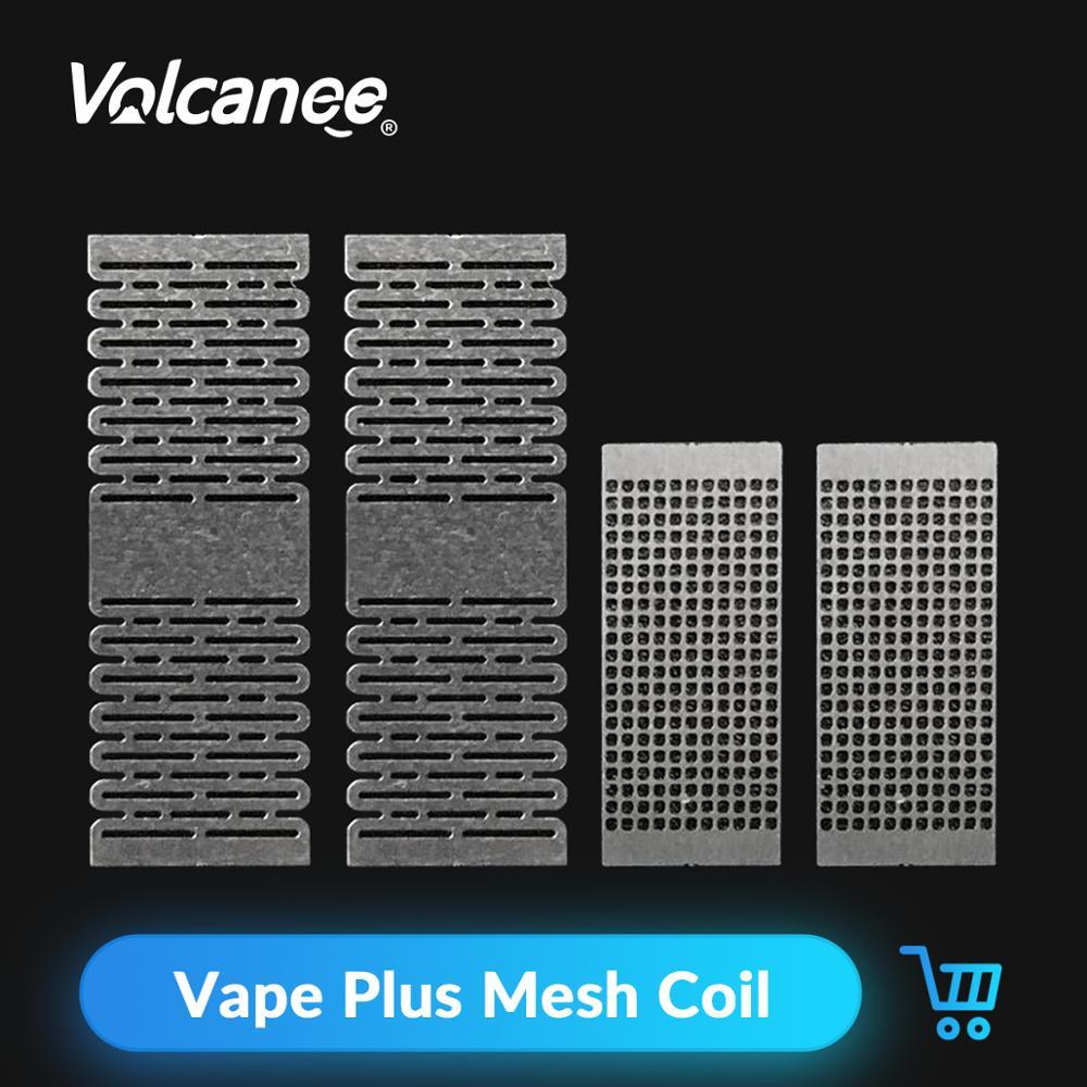 Volcanee 12pcs A1 Mesh Vape Coil SS316L 0.12 0.18 0.13 Ohm For Profile RDA RTA DIY Vape Tank Replacement Coils ECig Accessories