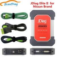 Jdiag Элитные 2 для Nissan, Infiniti Автомобильный сканер Elite ii J2534 ECU диагностический инструмент