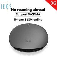 IKOS 3g Бесплатная Стоимость роуминга двойная sim-карта и три sim-карты онлайн для Iphone не нужно носить с собой