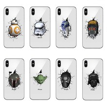 Star Wars High quality transparent Soft TPU Silicone Case Cover For Apple iPhone X 10 6 6SPlus 7 Plus 5 5S SE 8 8Plus