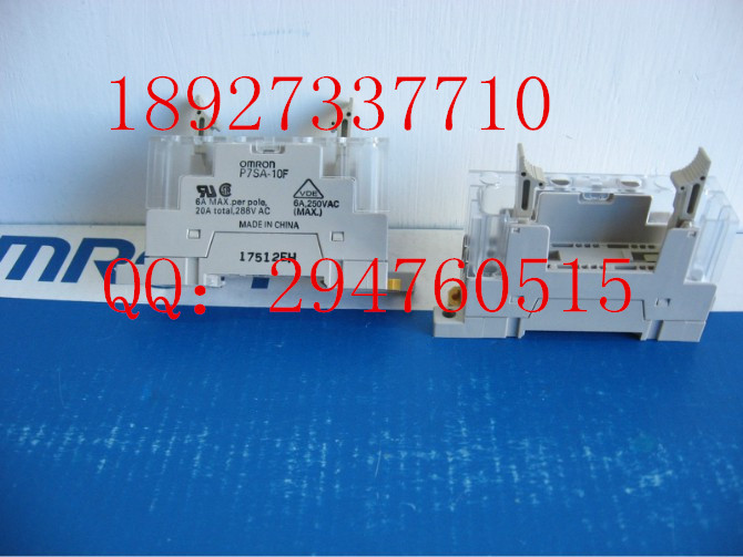 [ZOB] 100% new original OMRON solid state relay base P7SA-10F --2PCS/LOT [zob] 100% new original omron omron ratchet relay g4q 212s ac220v 2pcs lot