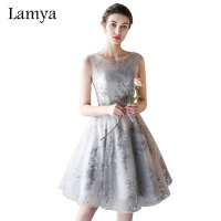 Lamya 2017 Cheap Burgundy Prom Dresses Princess Elegant Puffy Evening Party Gown Beach Special Occasion Dress