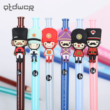 British Style Soldiers 0.5mm Ballpoint Pen Creative Pen Gift Students Writing Stationery Supplies(China)