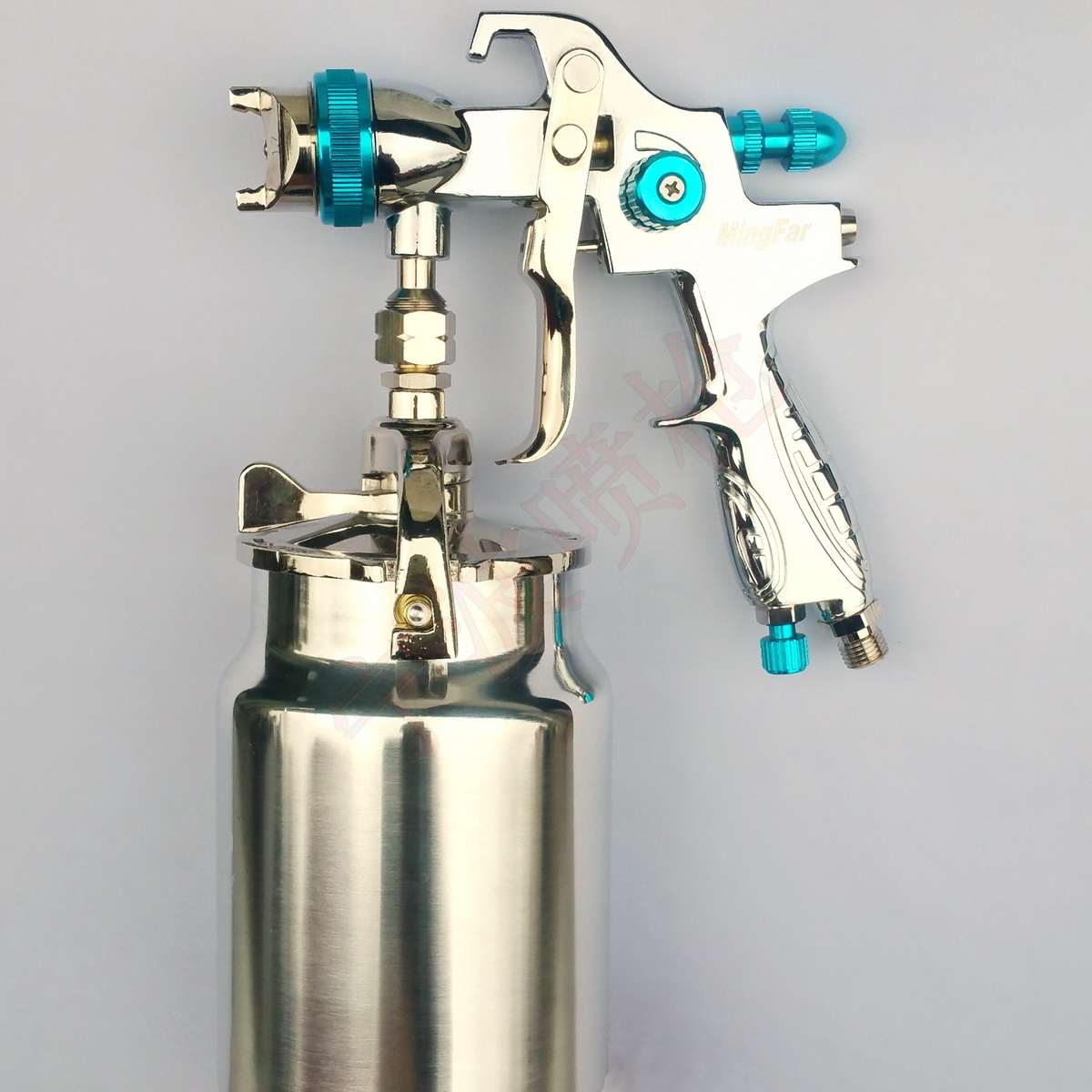 Free shipping Suction feed 1 7mm HVLP Siphon Air Spray gun for car boat furniture Painting