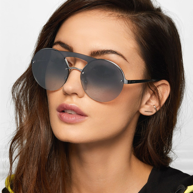 c0d827cf676ee Round Aviation sunglasses pink mirror glasses steampunk tinted big glasses  large frame brand designer mens oculos feminino