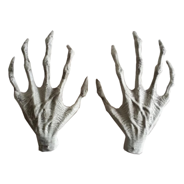 Halloween Plastic Skeleton Hands Witch Hands Haunted House Escape