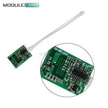 Домашний Светильник с автоматическим зондированием, переключатель расстояния движения, широкоугольный датчик постоянного тока, микроволновый радар-детектор 3-8 м, Модульная плата