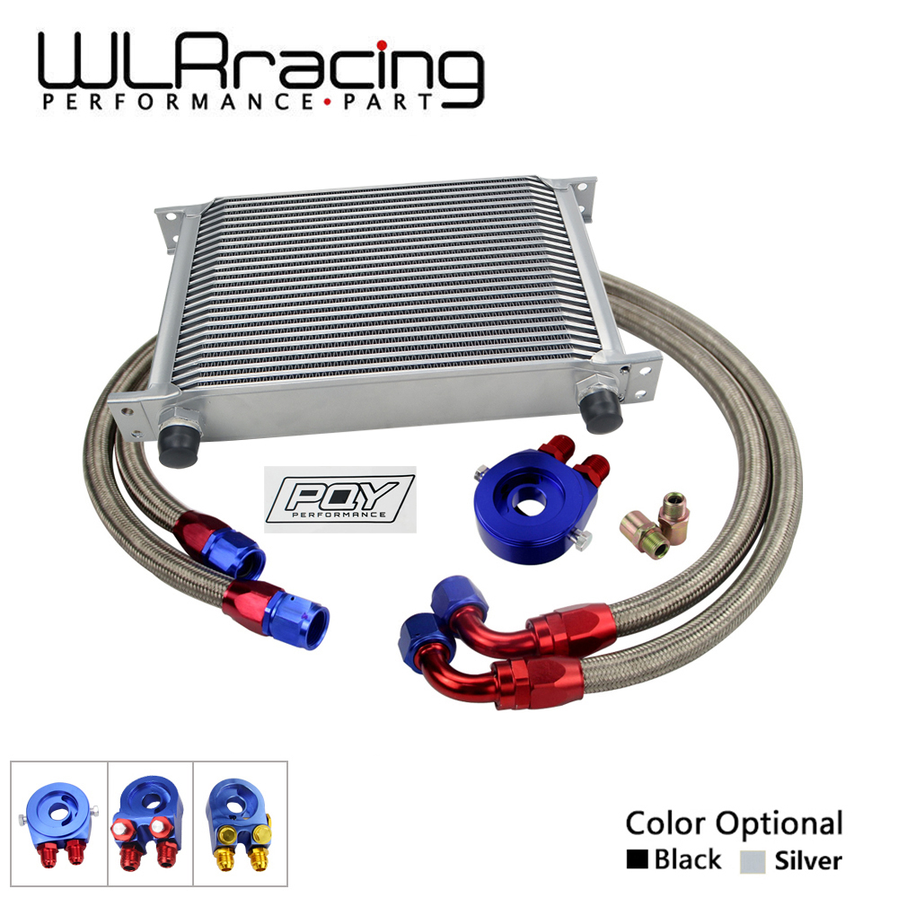 WLRING STORE- UNIVERSAL 25 ROWS AN10 ENGINE TRANSMISS OIL COOLER KIT + FILTER RELOCATION WITH PQY STICKER AND BOX pqy racing universal 30 row an10 engine transmiss oil cooler kit filter relocation blue page 4
