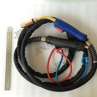 Binzel MB 501D Mig Torch Gun 5 Meter Cable Water Cooled with Euro Connector Connection 500A CO2 450A Mixed Gas JINSLU