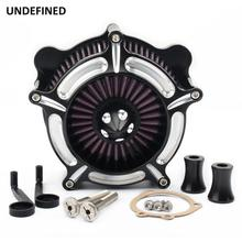 Voor Harley Softail Dyna Touring Road Glide 1993 2007 Luchtfilter Motorfiets Turbine Spike Intake Luchtfilter Systeem