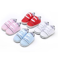 Baby Boy Girls First Walkers Toddler Infnat Mixed Colors Lace Up Shoes for Newborn Kids Soft Sole Casual Walking Crib Shoes