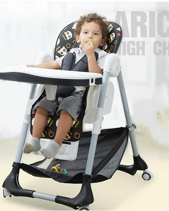 Multi-function children desk and chair of eat of eat chair baby children eat chair folding portable baby chair