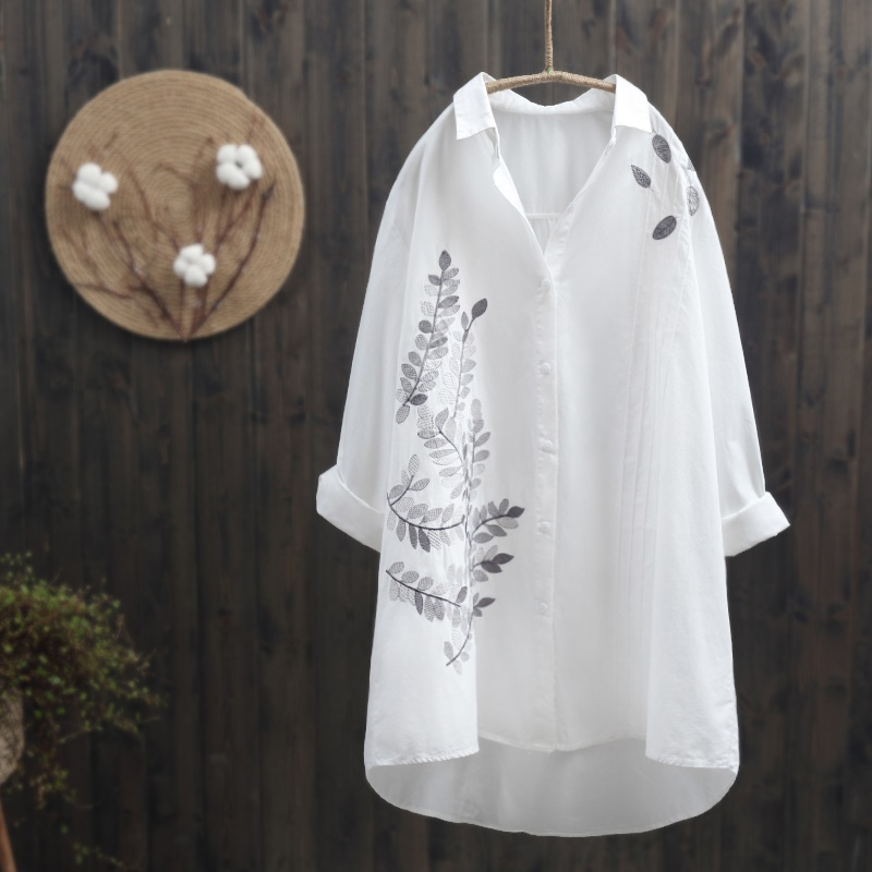 Blouses & Shirts Women Tops Summer 2019 Oriental Blouse Spring Chinese Style Shirt Peasant Womens Tops And Blouses Japanese Streetwear Aa4694