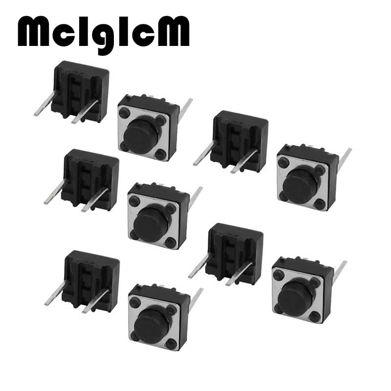 H015-14 40pcs Tactile Tact Push Button Switch Through Hole, 6x6x4.3mm Momentary DIP Switch, Micro Self-reset 2pin Switch premintehdw abs wall mount bathroom folding seat fold up seats shower rv seat