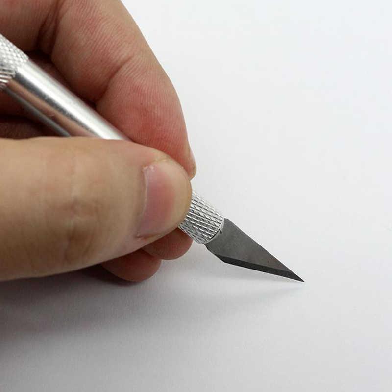 1 pc grawerowanie długopis Craft nóż drewno papier Cutter z chronić Cap sztuki narzędzie do rzeźbienia dla telefonu laptopa naprawy