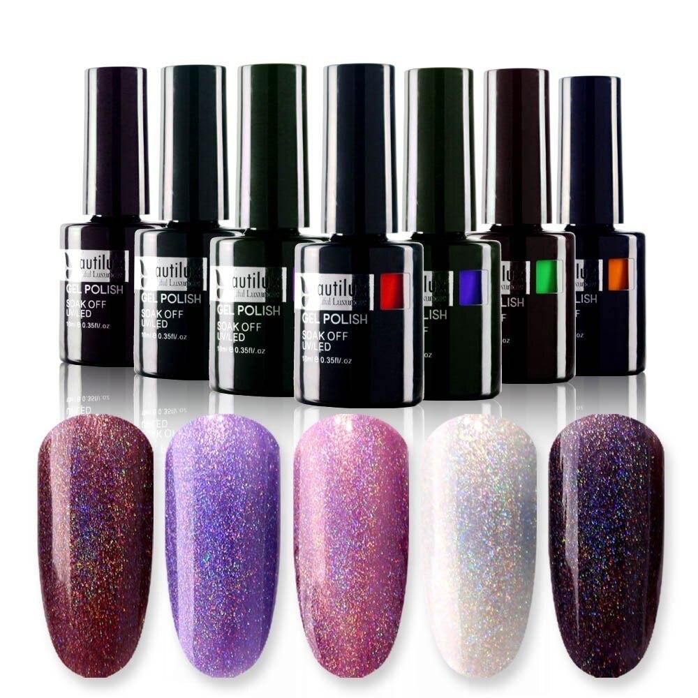 Aliexpress.com : Buy Mtssii Shiny Rainbow Diamond Nail Gel
