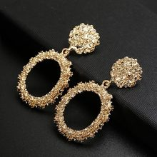 2019 Newest Fashion Earrings For Women European Design Drop Earrings Gift For Friend(China)