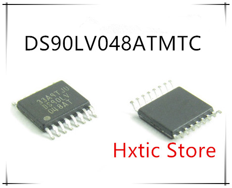 NEW 10PCS DS90LV048ATMTC DS90LV048AT DS90LV048 TSSOP-16 IC