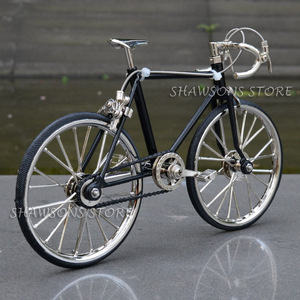 Image 2 - Diecast דגם צעצועי 1:10 מרוצי אופני אופניים העתק מיניאטורי אוספים