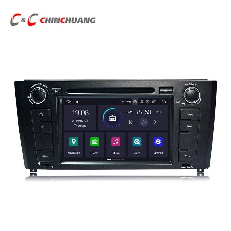 Lecteur DVD de voiture Android 9.0 pour BMW E81 E82 E87 E88 I20 Radio RDS GPS Navigation SWC lien miroir DVR Wifi 4G sortie Audio vidéo