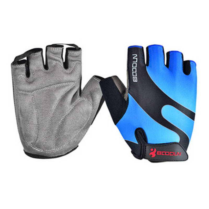 BOODUN MTB <font><b>Mountain</b></font> <font><b>Bike</b></font> Bicycle <font><b>Gloves</b></font> <font><b>Gel</b></font> Pad Half Finger Cycling <font><b>Gloves</b></font> Breathable Men And Women guantes ciclismo S-XXL image