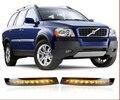 Бесплатная доставка, Для Volvo XC90 из светодиодов DRL дневного света + функция + двойной контроль защиты