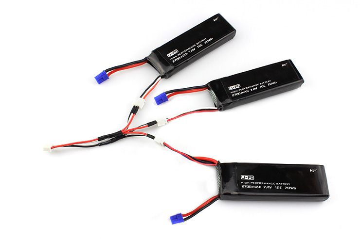 3 IN 1 Chragre line + 3PCS original Hubsan H501S battery Battery spare parts for Hubsan H501S H501A H501M H501C RC quadcopter hot sale hubsan h501s h501a x4 rc quadcopter spare parts transmitter h501s 15 for rc remote control quadcopter drone parts accs