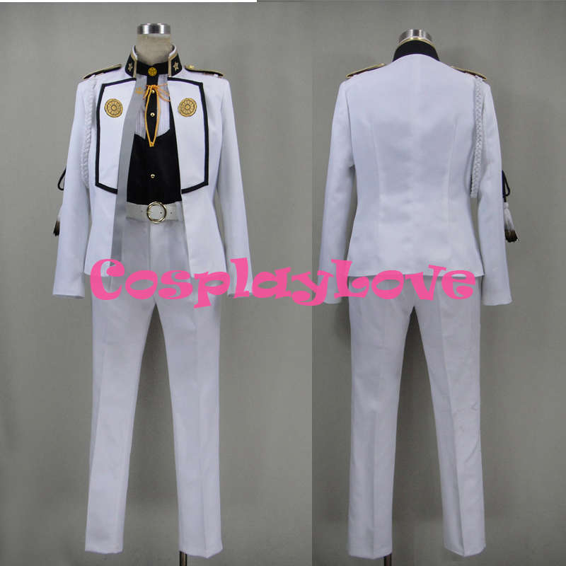 Custom Japanese Game Touken Ranbu Online Higekiri Cosplay Costume Christmas Halloween High Quality Halloween